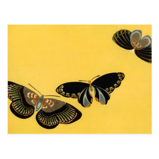 Vintage Butterflies Post Cards