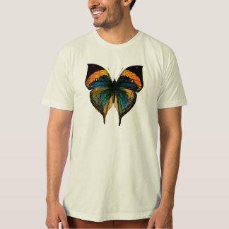 Vintage Butterfly - 1800's Antique Butterfly Litho T Shirt