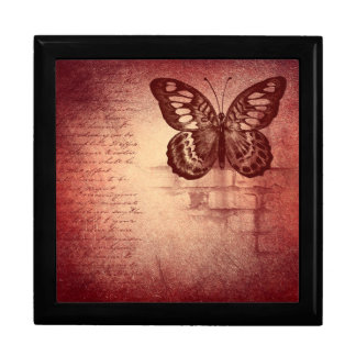 Vintage Butterfly Gift Box