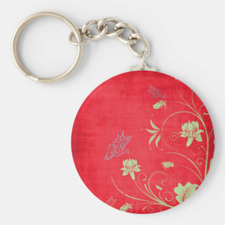 Vintage Butterfly Key Chains