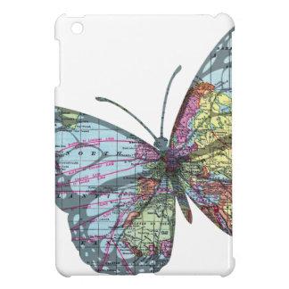 Vintage Butterfly Map iPad Mini Case