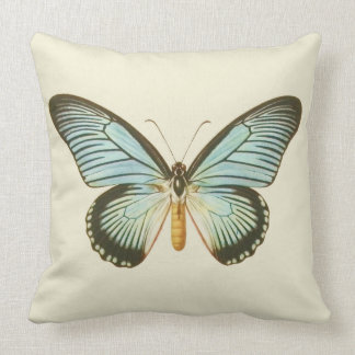 Vintage Butterfly Pillow