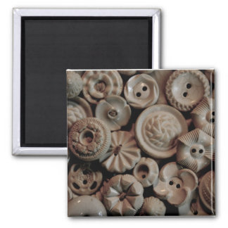 Vintage Buttons Magnet