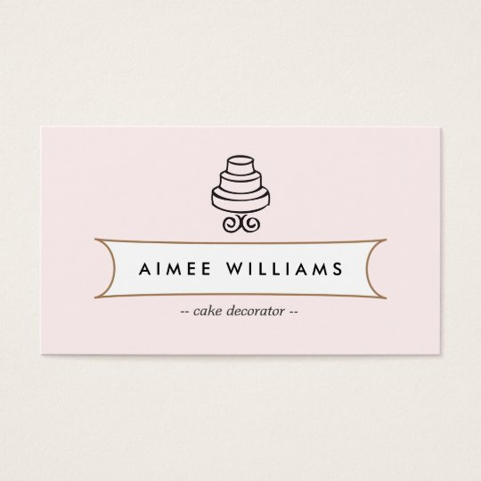 Vintage cake logo ii for bakery cafe catering business card vintage cake logo ii for bakery cafe catering business card reheart Image collections