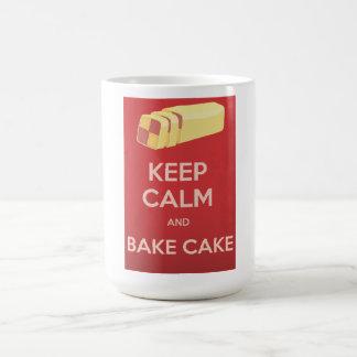 Vintage Cakes Pattern Basic White Mug