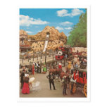 Vintage Calico Square Post Cards