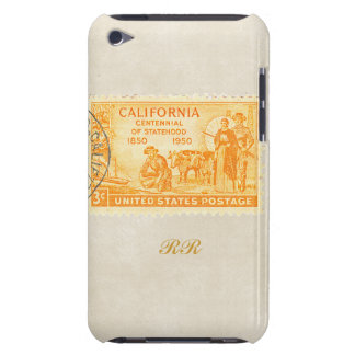 Vintage California '50s Centennial iPod Touch iPod Touch Cases