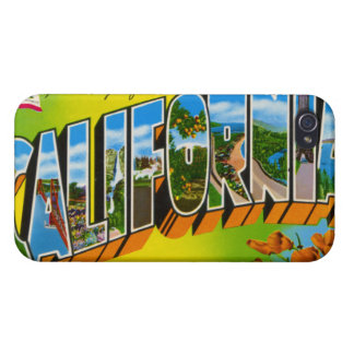 Vintage California Covers For iPhone 4