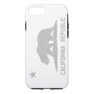 Vintage California Flag Damask Pattern iPhone 7 Case