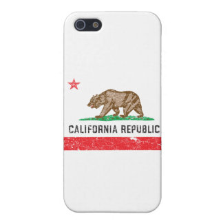 Vintage California Flag iPhone 5/5S Cover