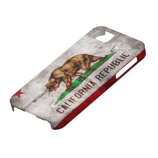 Vintage California Flag iPhone 5 Case