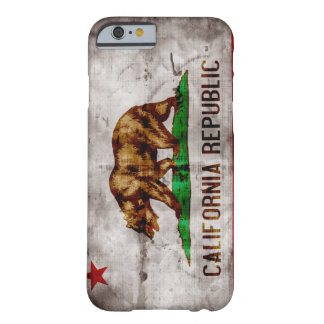 Vintage California Flag iPhone 6 case Barely There iPhone 6 Case