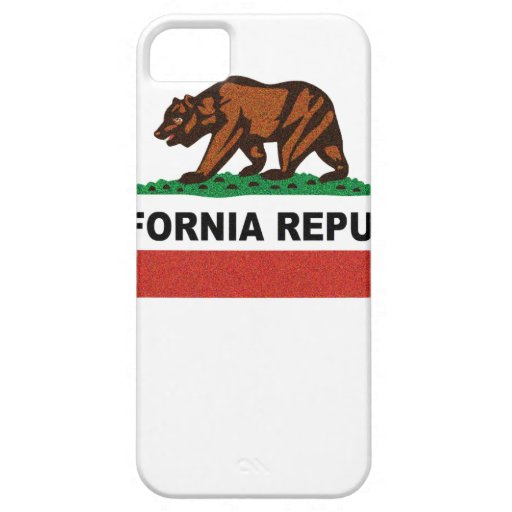 Vintage California Flag Tshirt.png iPhone 5 Covers