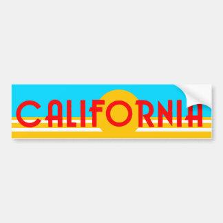 VIntage California Logo Bumper Sticker