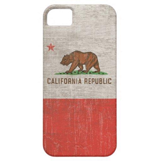 Vintage California Republic iPhone 5 Cover
