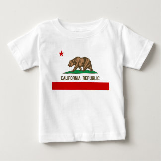Vintage California Republic State Flag Baby T-Shirt