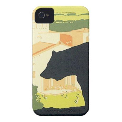 Vintage California State Fair Case-Mate iPhone 4 Case