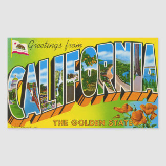 Vintage California Sticker