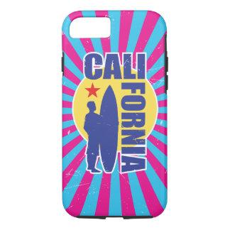 Vintage California Surf Sunburst iPhone 8/7 Case