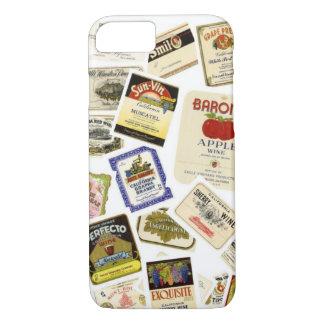 Vintage California Wine Labels iPhone 7 Case