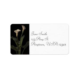 Vintage Calla Lilies Address Labels