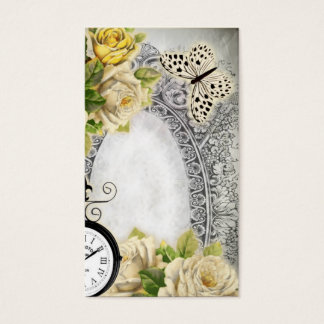 Vintage calling card Victorian style 2017