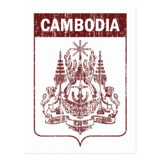 Vintage Cambodia Postcard