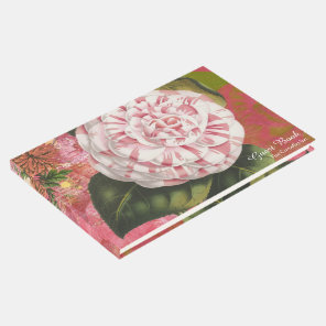 Vintage Camellia Hotel or B&B Guest Book