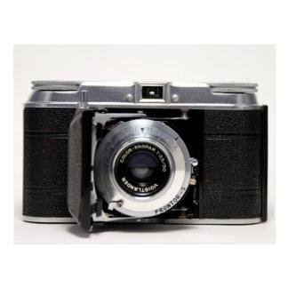 VINTAGE CAMERA 5) German Folding Camera - Postcard