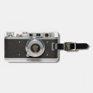 VINTAGE CAMERA 9 Russian F Luggage Tag