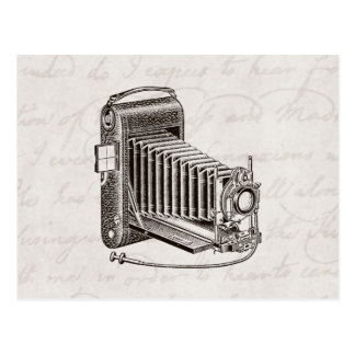 Vintage Camera - Antique Cameras Photography Retro Postcard