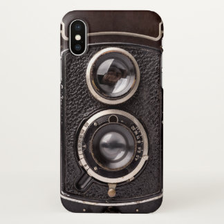 Vintage Camera Antique Look iPhone X Case