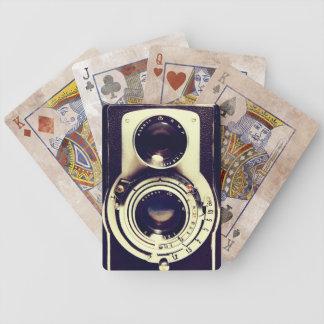 Vintage Camera Bicycle Poker Deck