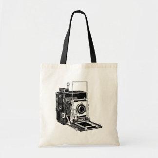 Vintage Camera Budget Tote Bag