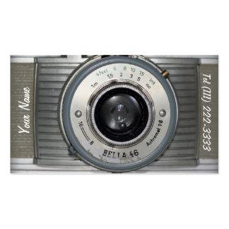Vintage Camera Business Card Templates