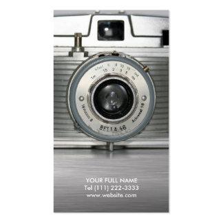 Vintage Camera Business Cards