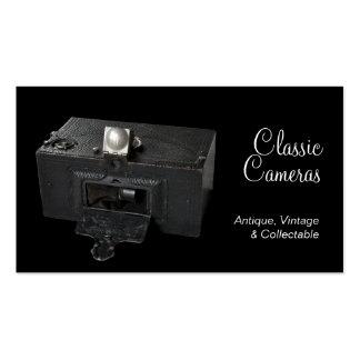 Vintage camera business card