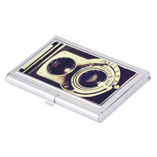 Vintage Camera Business Card Holder