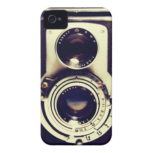 Vintage Camera Blackberry Cases