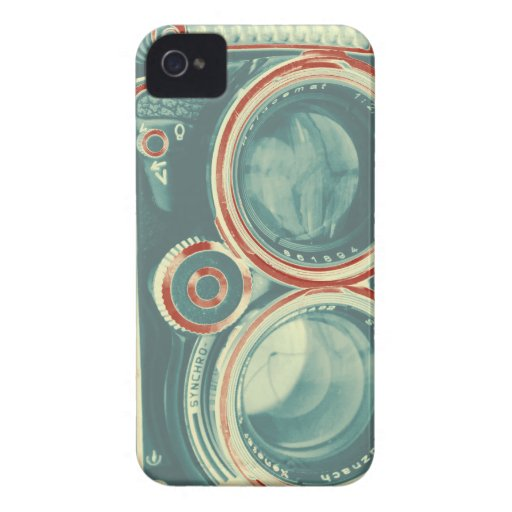 Vintage Camera iPhone 4 Case-Mate Cases