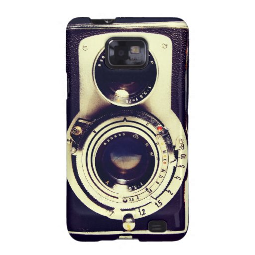 Vintage Camera Samsung Galaxy S Cover