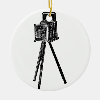 Vintage Camera Christmas Ornament