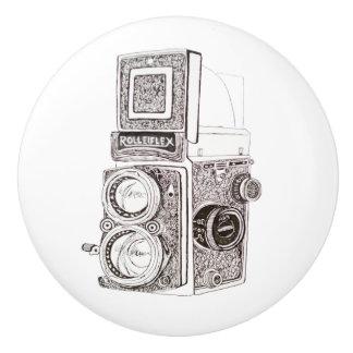 Vintage Camera Drawer Knob