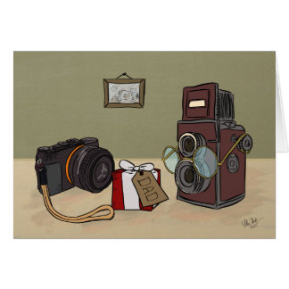 Vintage Camera - Father's Day card