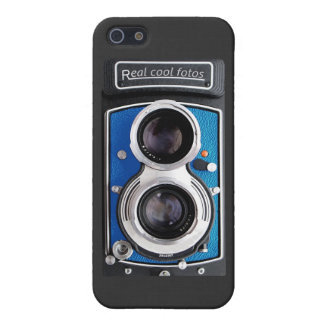 Vintage Camera for your iPhone 5! Blue color. iPhone 5/5S Cases