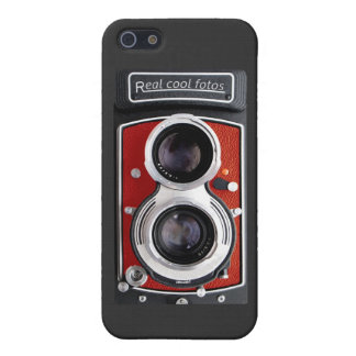 Vintage Camera for your iPhone 5 in orange color! iPhone 5/5S Cases