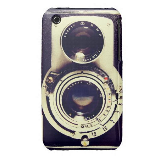Vintage Camera iPhone 3 Case-Mate Cases