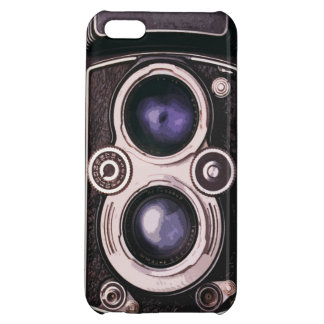 Vintage camera cover for iPhone 5C