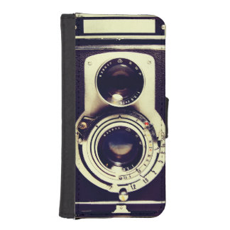 Vintage Camera iPhone SE/5/5s Wallet Case