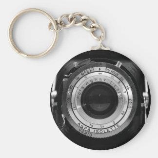 Vintage camera lens keychains